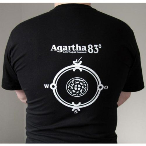 Agartha 83° Shirt Rücken